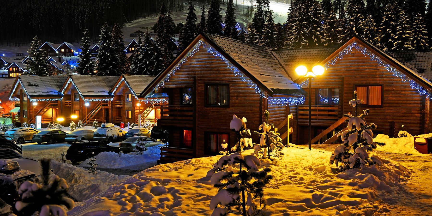 Лагонаки снять дом новый год