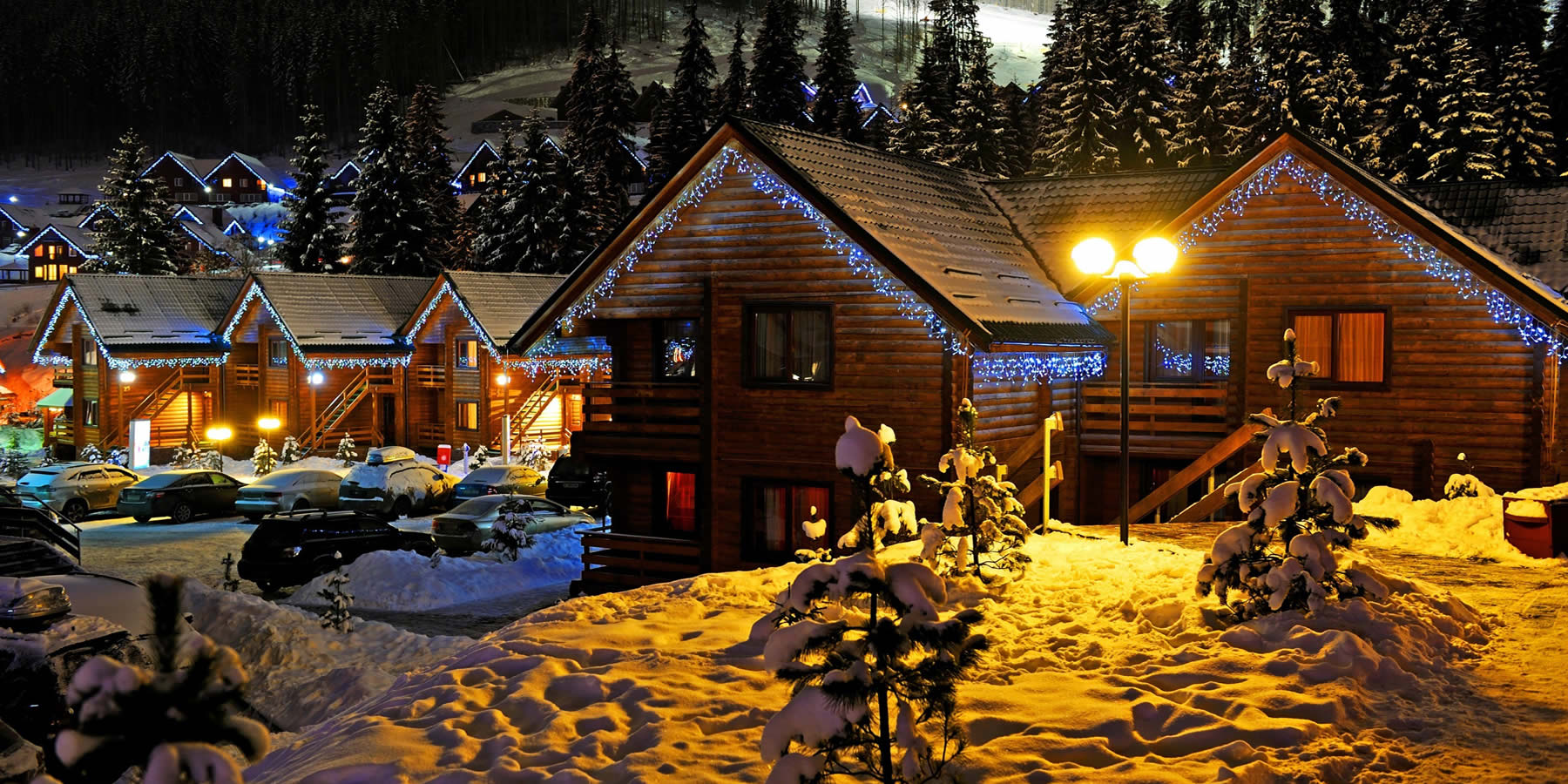 НОВЫЙ ГОД и Рождество за городом - загородный отдых с Едем Загород